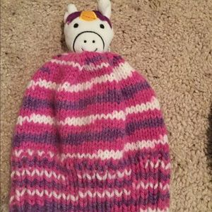 Accessories - Unisex hand knitted animal hats